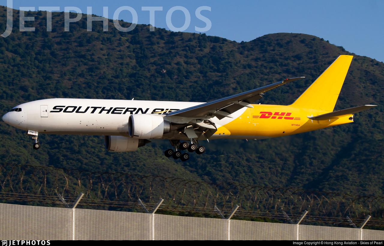 N774SA - Boeing 777-FZB - Southern Air