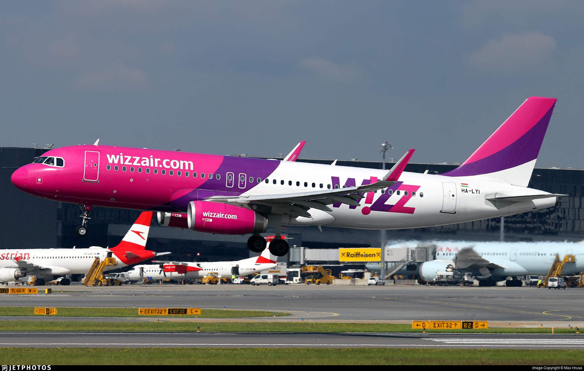 Ha Lyi Airbus A320 232 Wizz Air Max Hrusa Jetphotos