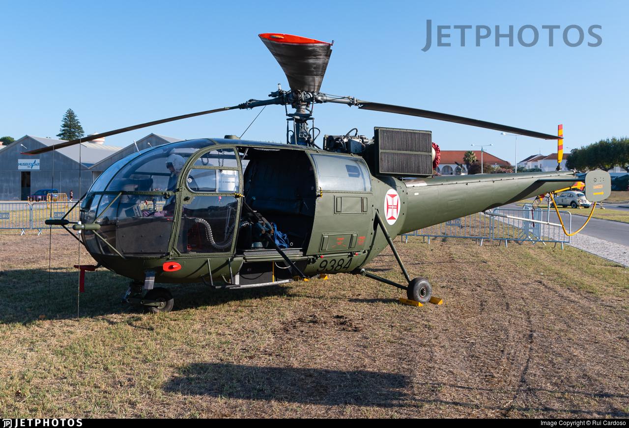 9384 - Aérospatiale SA 316B Alouette III - Portugal - Air Force