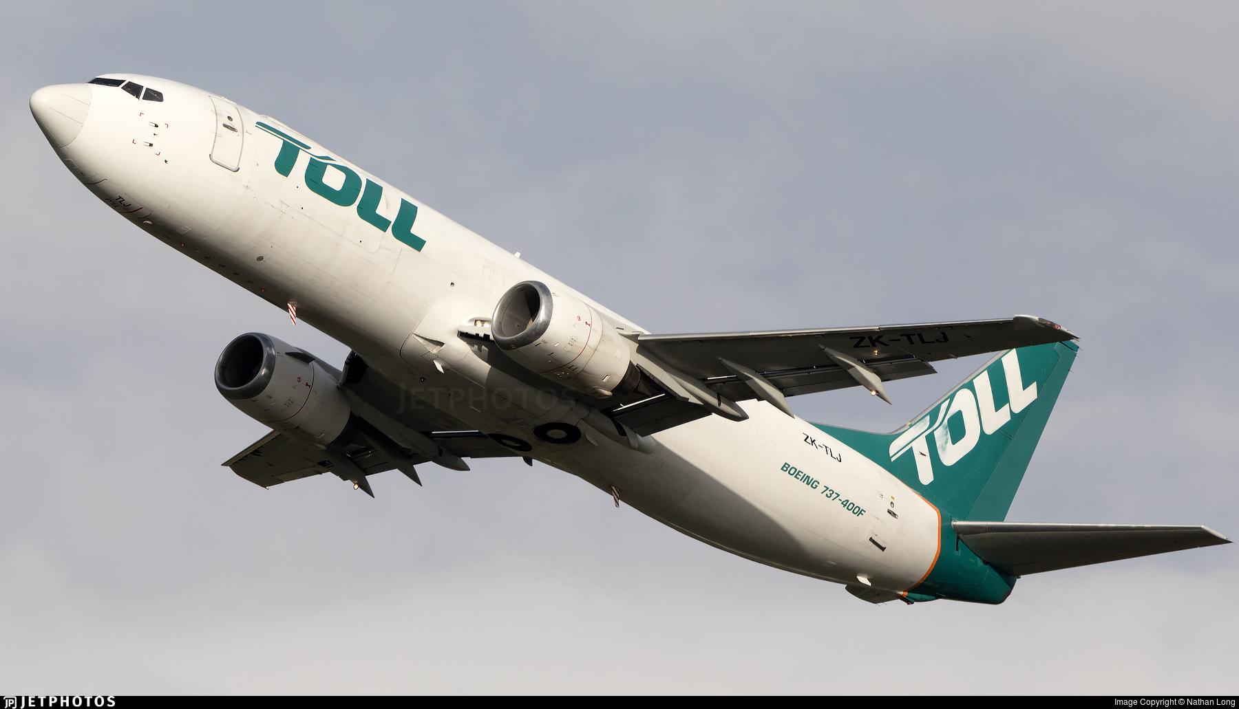 ZK-TLJ - Boeing 737-476(SF) - Airwork New Zealand