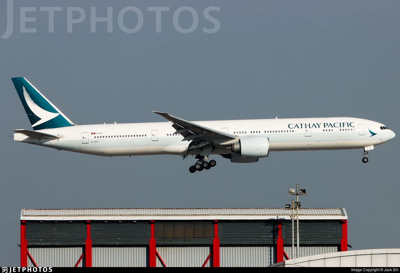 B-KPI - Boeing 777-367ER - Cathay Pacific Airways
