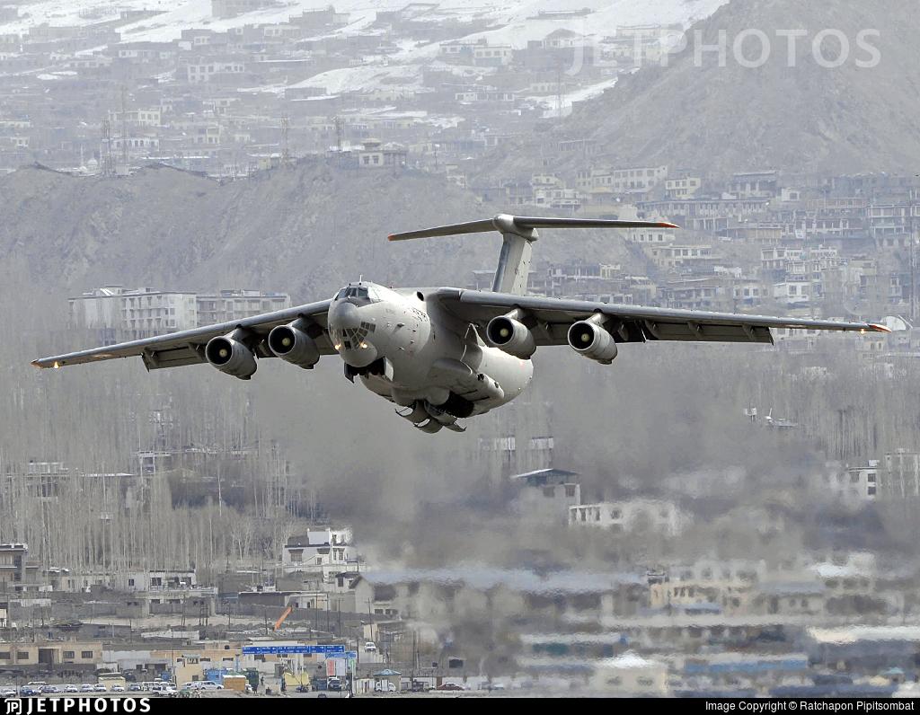 K2879 - Ilyushin IL-76MD - India - Air Force