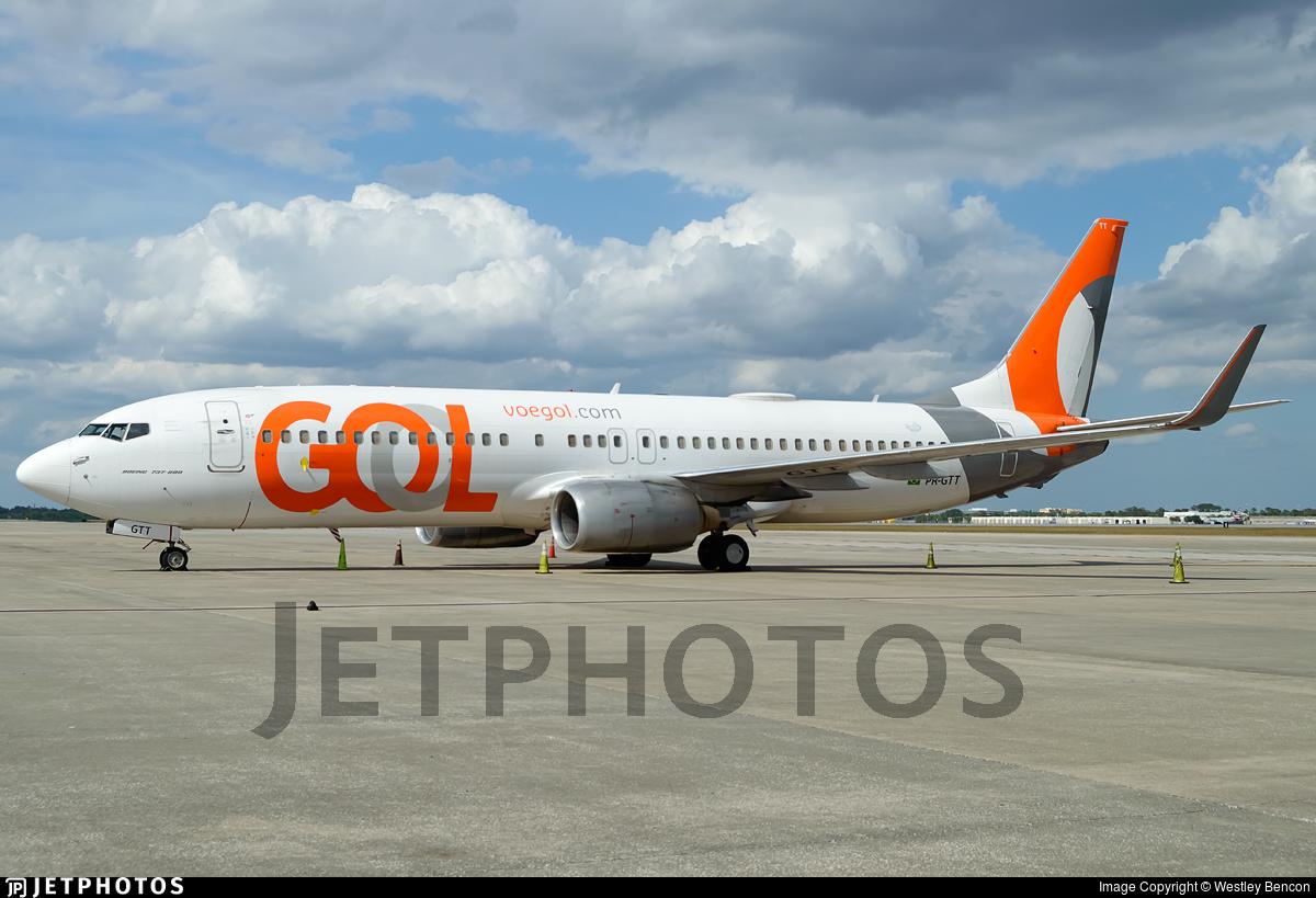 PR-GTT - Boeing 737-8EH - GOL Linhas Aéreas