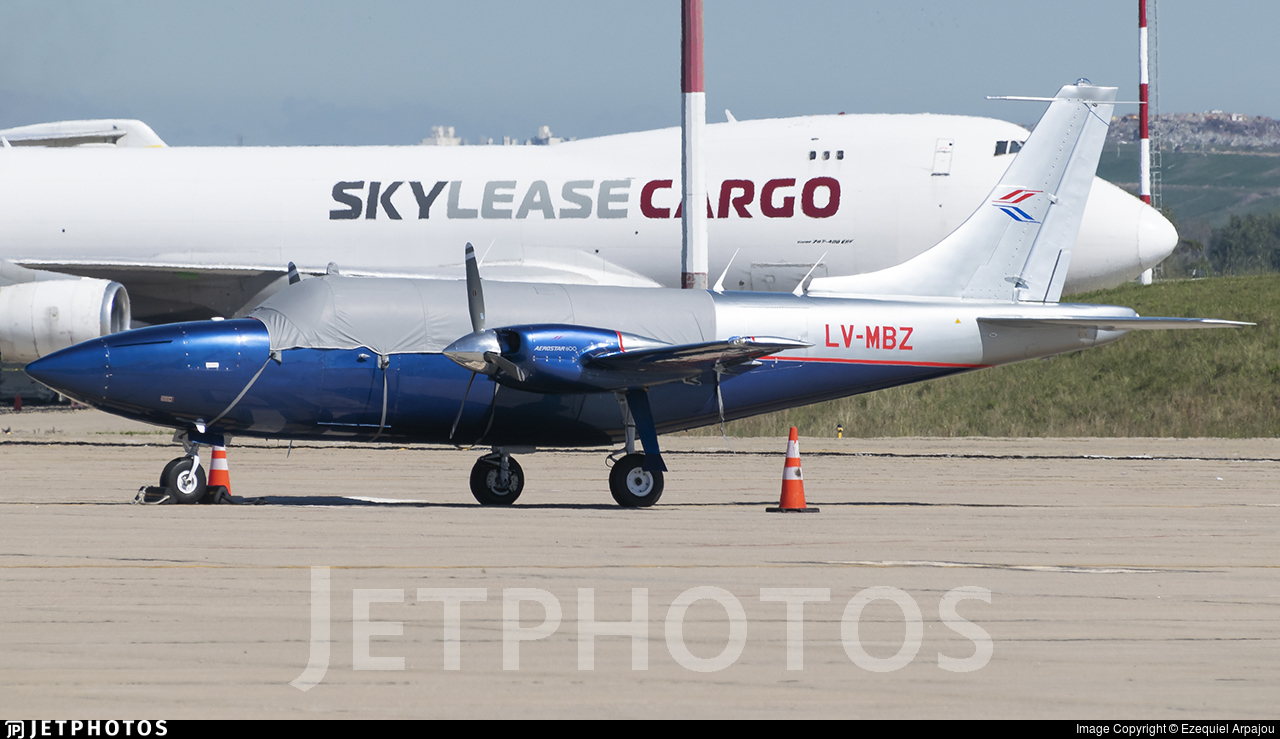 LV-MBZ - Ted Smith Aerostar 600A - Private