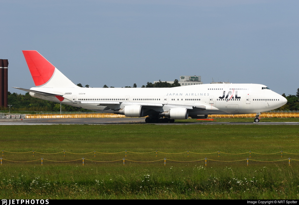 JA8901 - Boeing 747-446 - Japan Airlines (JAL)
