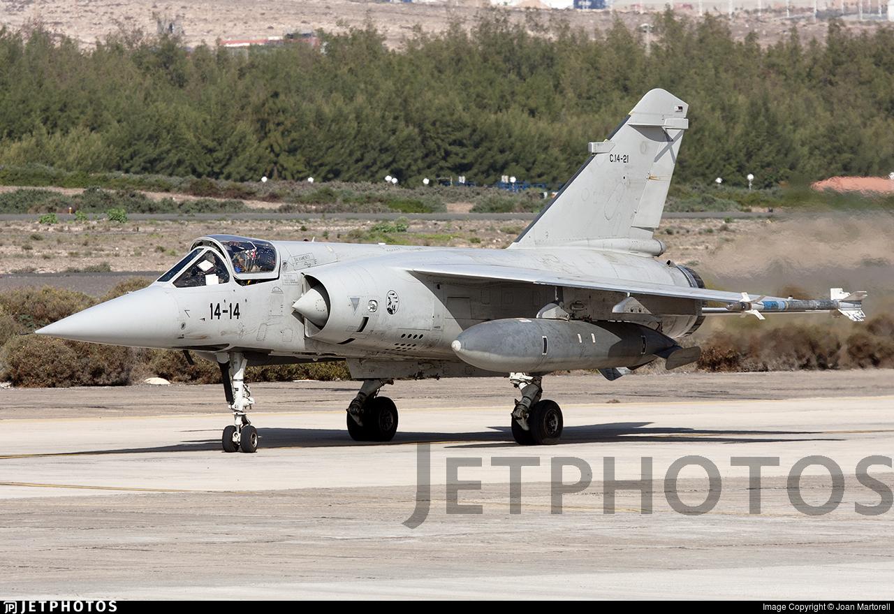C.14-21 - Dassault Mirage F1M - Spain - Air Force