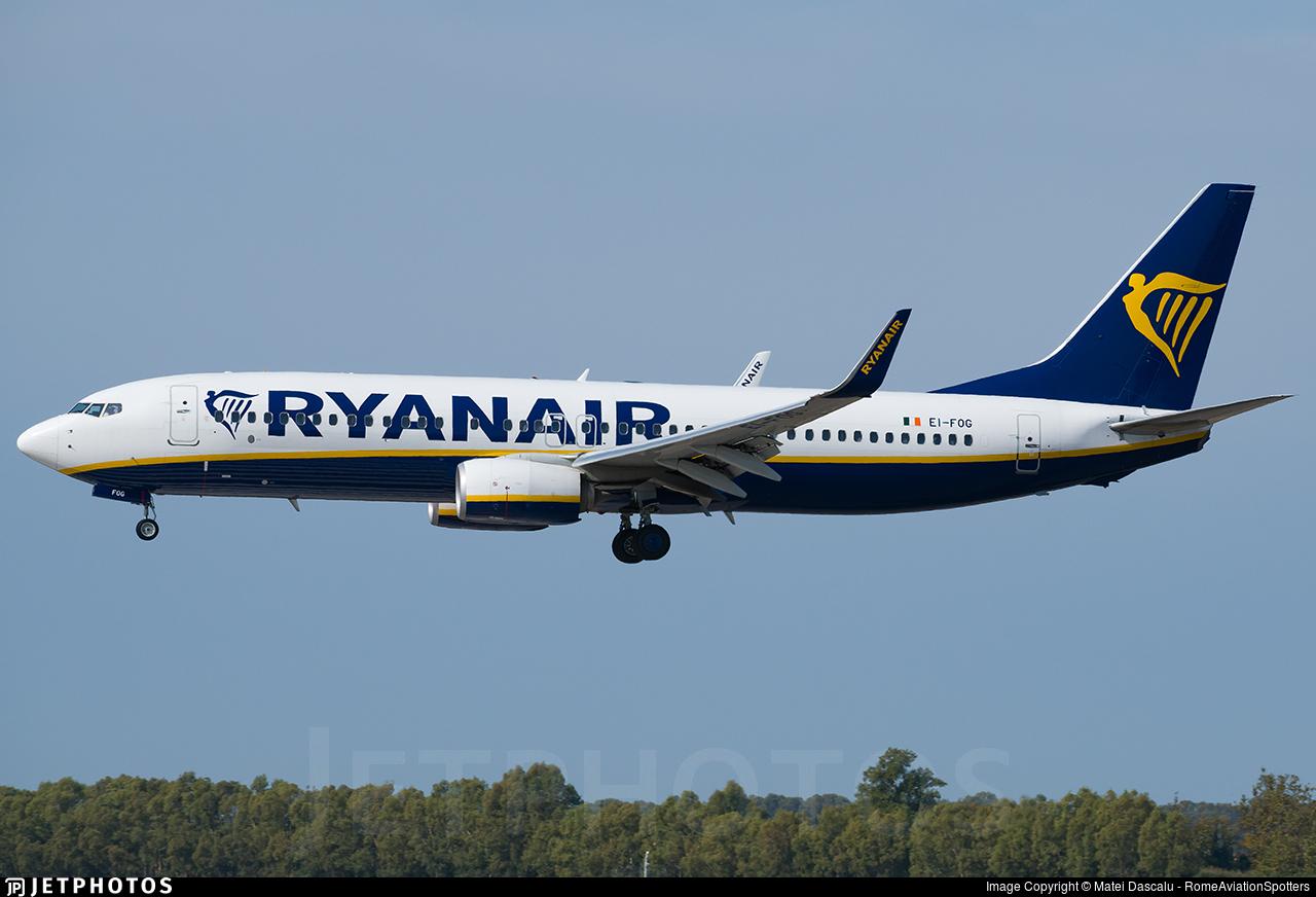 EI-FOG - Boeing 737-8AS - Ryanair