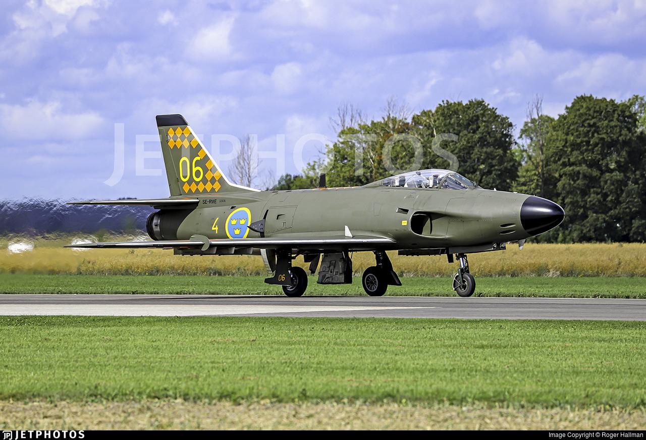 SE-RME - Saab J-32B Lansen - Swedish Airforce Historic Flight