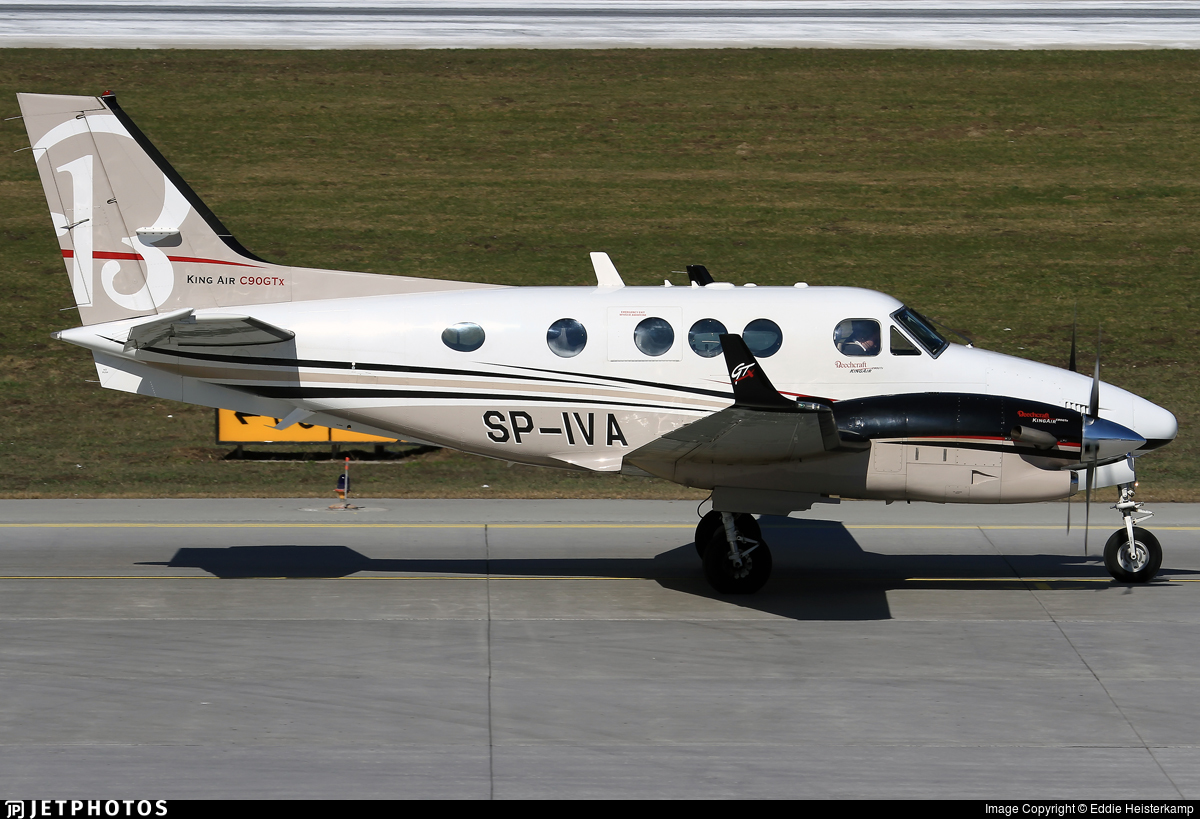SP-IVA - Beechcraft C90GTx King Air - Ad Astra Executive Charter