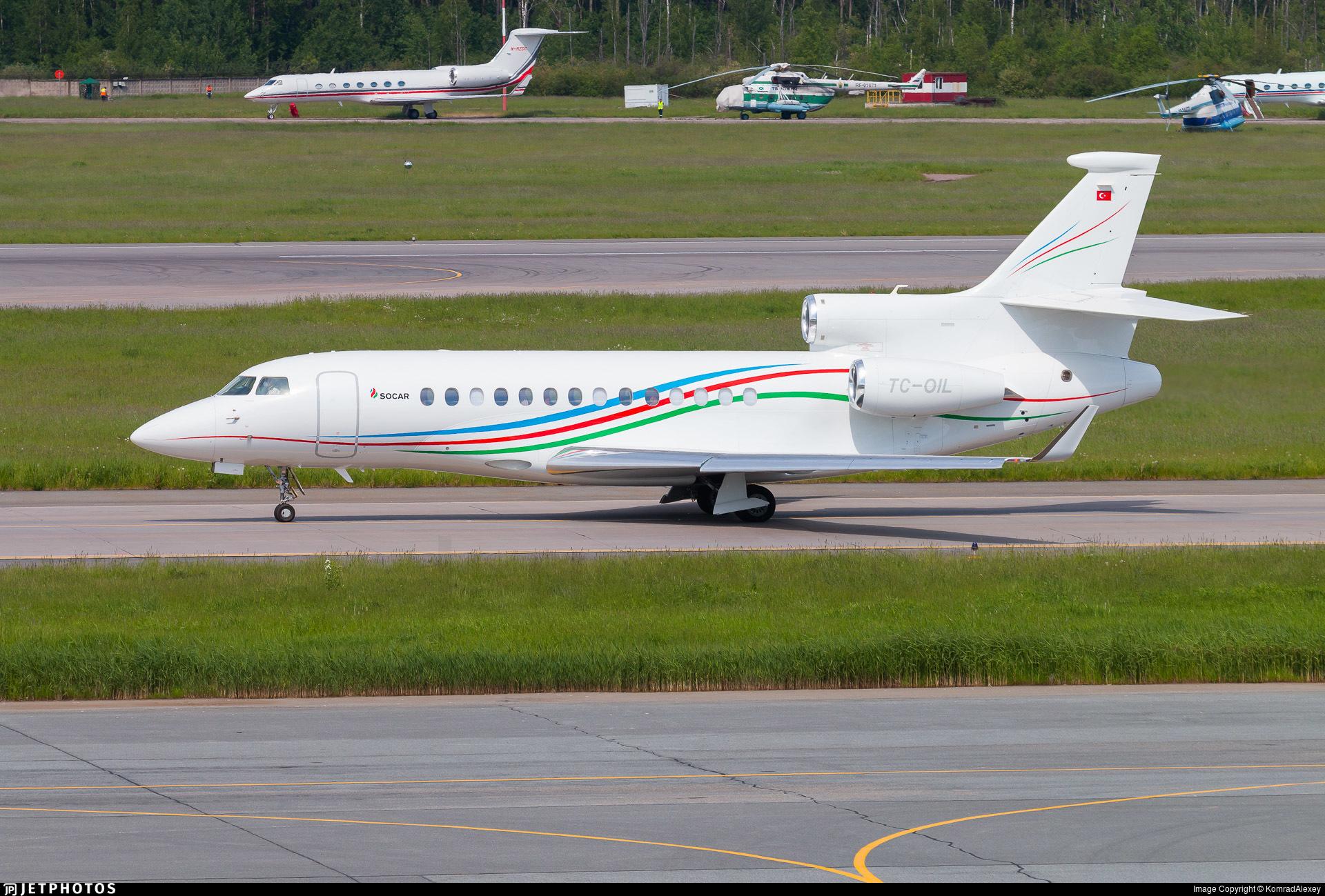TC-OIL - Dassault Falcon 7X - Palmali Air
