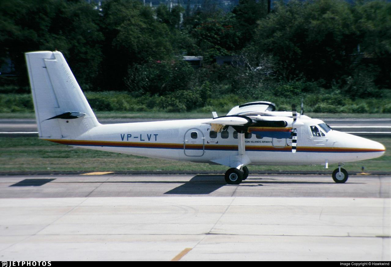 VP-LVT - De Havilland Canada DHC-6-300 Twin Otter - Virgin Island Airways