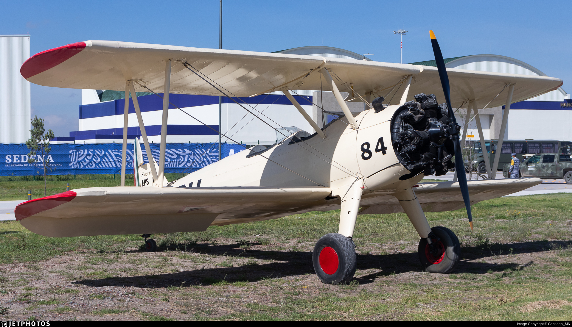 EPS-6084 - Boeing PT-17 Kaydet - Mexico - Air Force