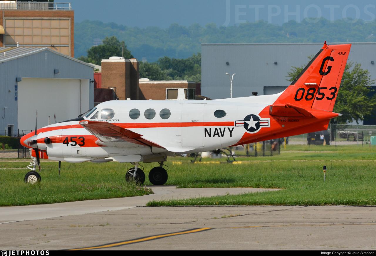 160853 - Beechcraft T-44C Pegasus - United States - US Navy (USN)