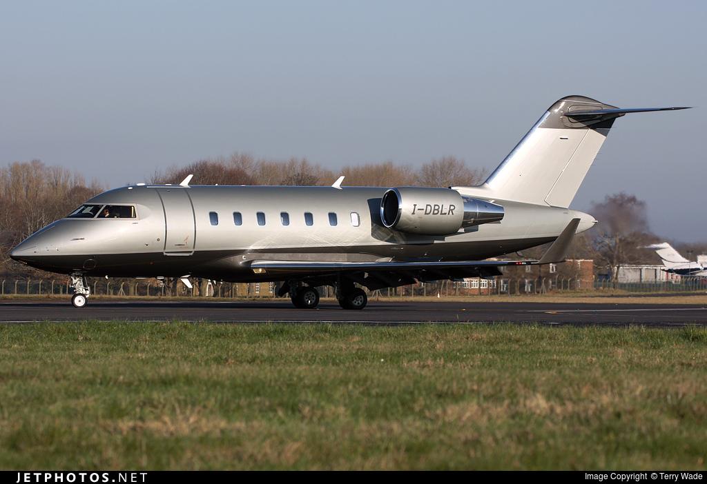 I-DBLR - Bombardier CL-600-2B16 Challenger 650 - Private