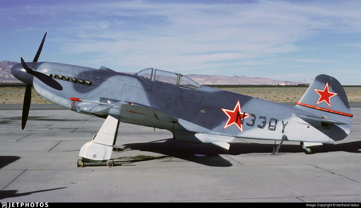 N338Y - Yakovlev Yak-3UA - Private