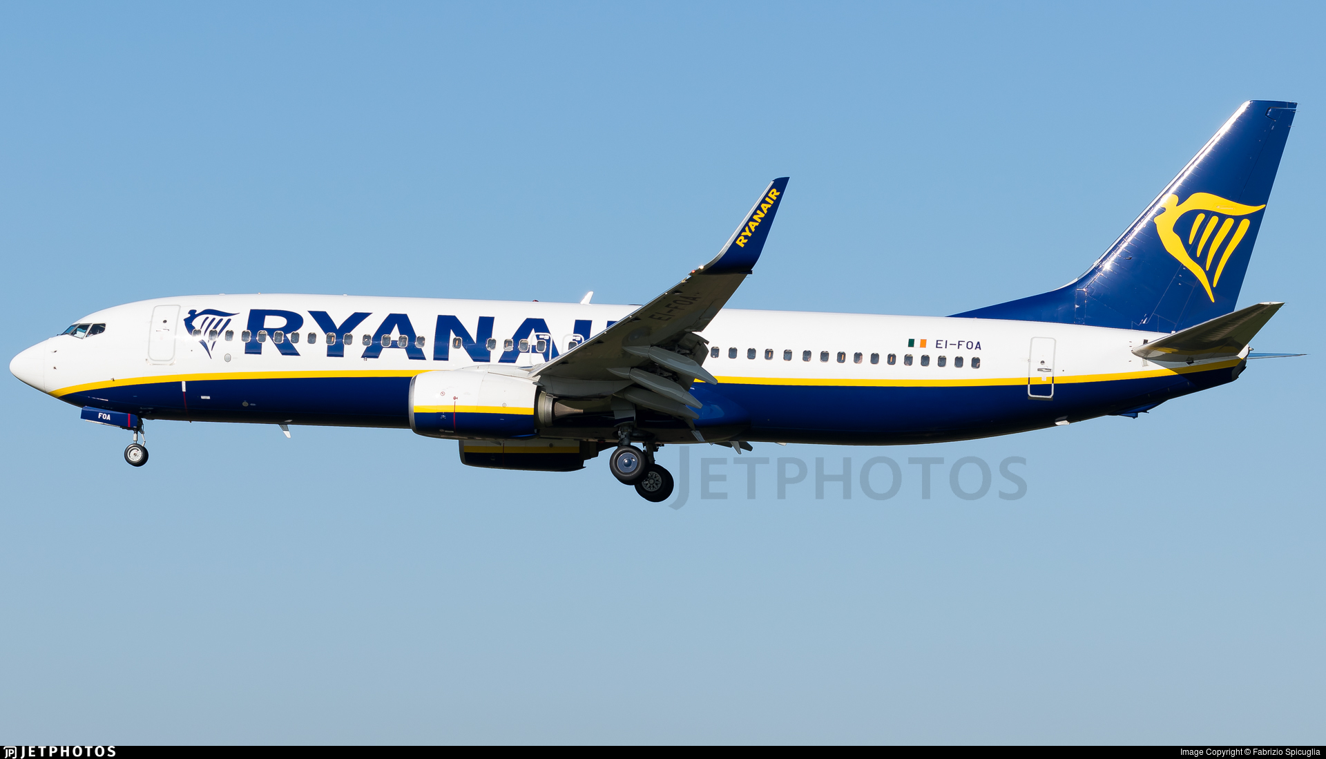 EI-FOA - Boeing 737-8AS - Ryanair
