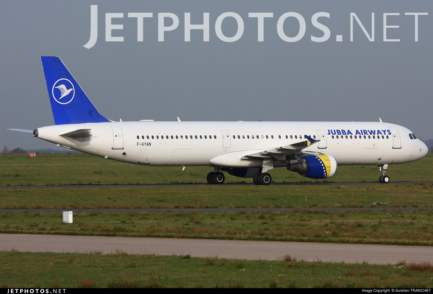 F-GYAN - Airbus A321-111 - Jubba Airways