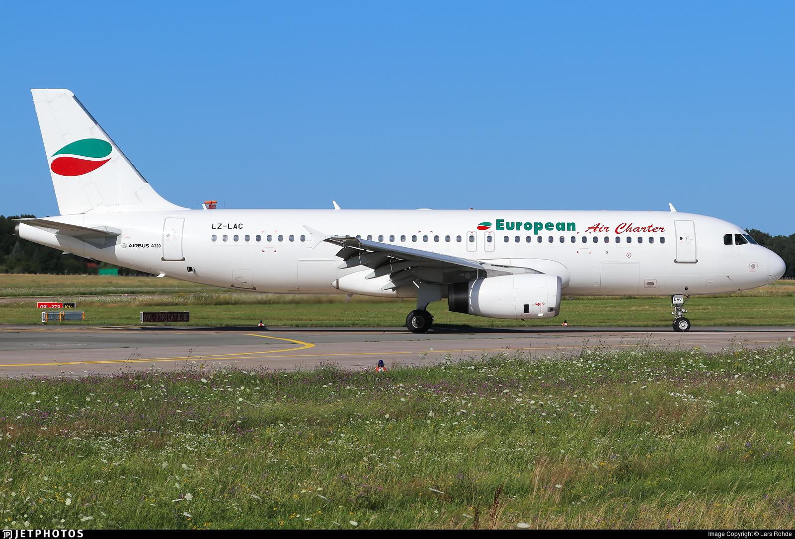 LZ-LAC - Airbus A320-231 - European Air Charter