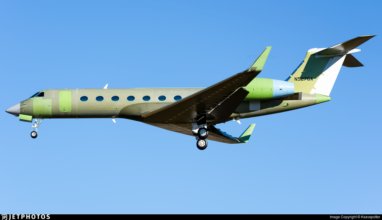 N527GA - Gulfstream G550 - Gulfstream Aerospace