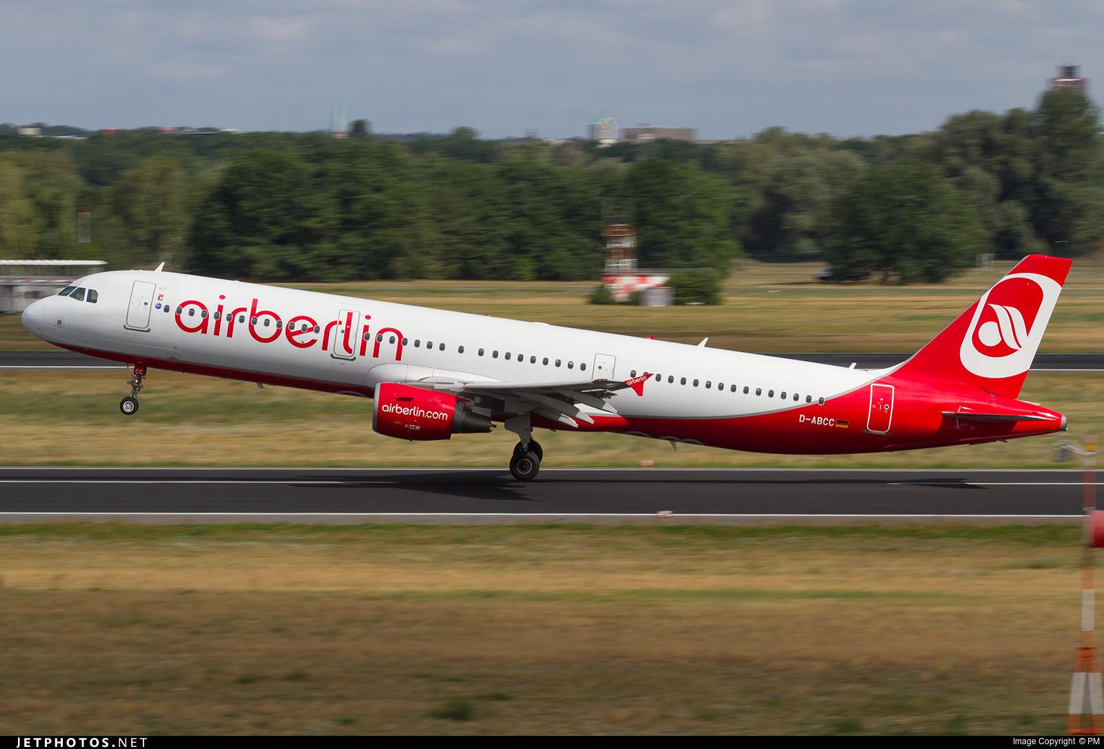 D-ABCC - Airbus A321-211 - Air Berlin