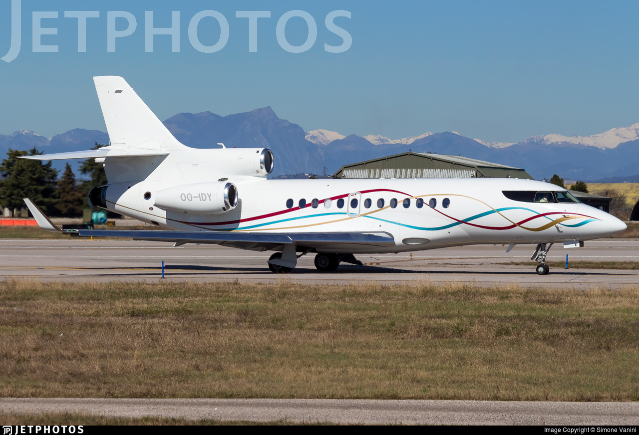 OO-IDY - Dassault Falcon 7X - Flying Group
