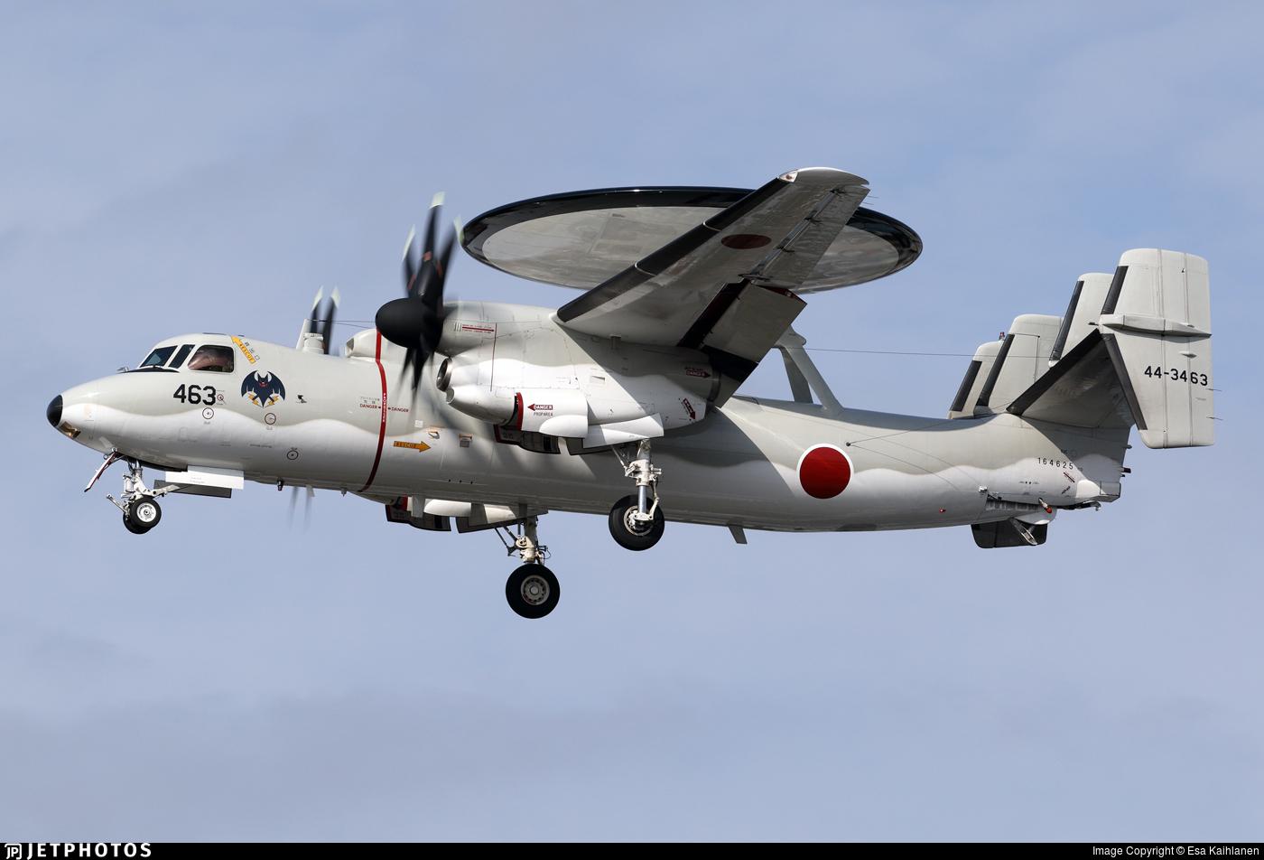44-3463 - Grumman E-2C Hawkeye - Japan - Air Self Defence Force (JASDF)