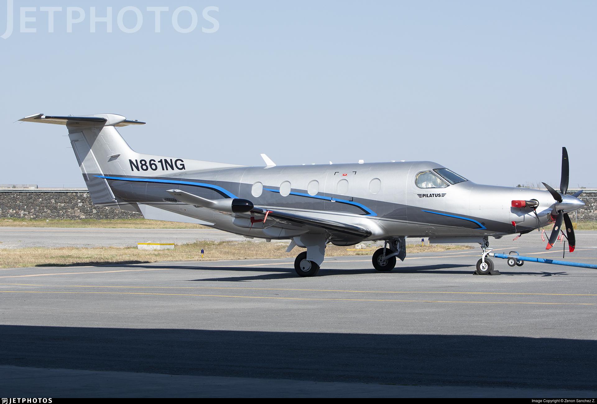 N861NG - Pilatus PC-12/47E - Private