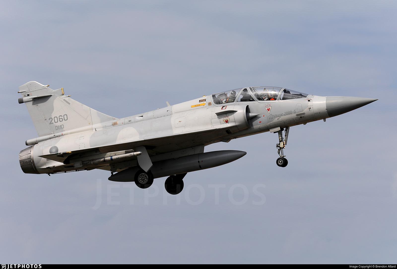 2060 - Dassault Mirage 2000-5DI - Taiwan - Air Force