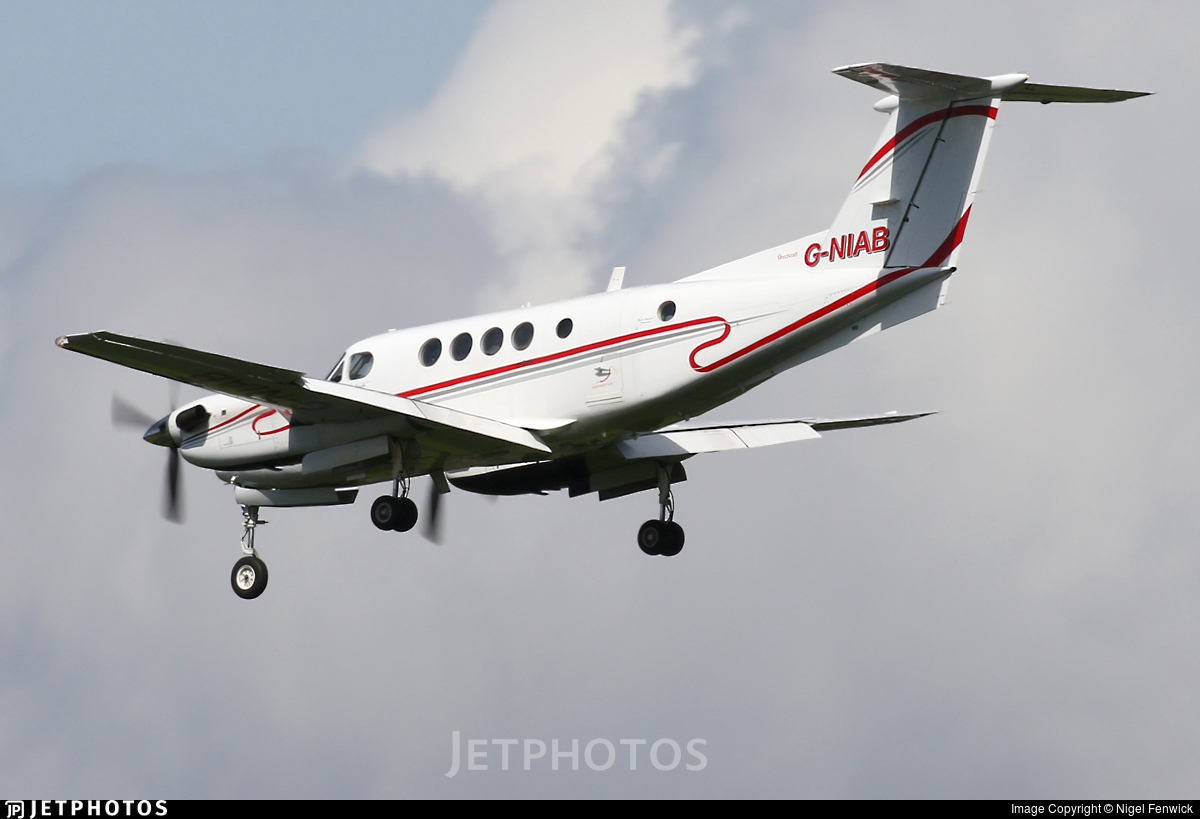 G-NIAB - Beechcraft 200C Super King Air - Woodgate Aviation