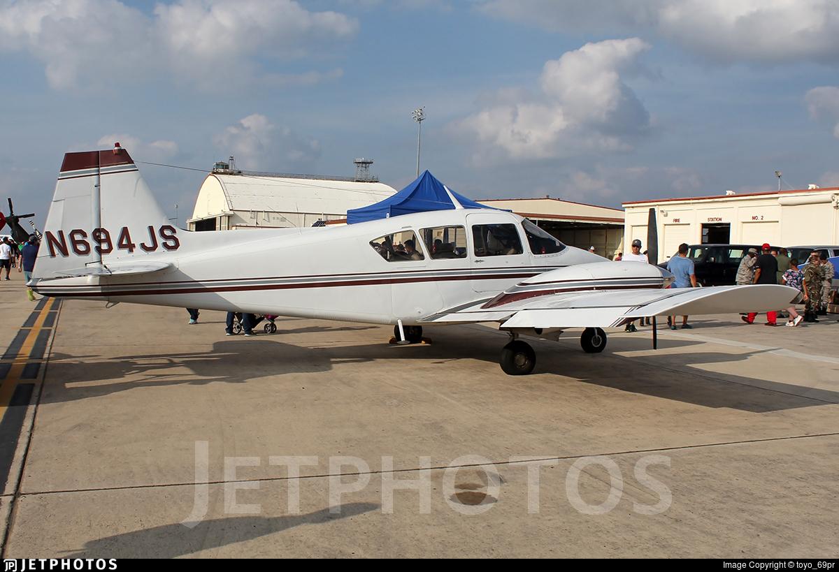 N694JS - Piper PA-23-160 Apache - Private