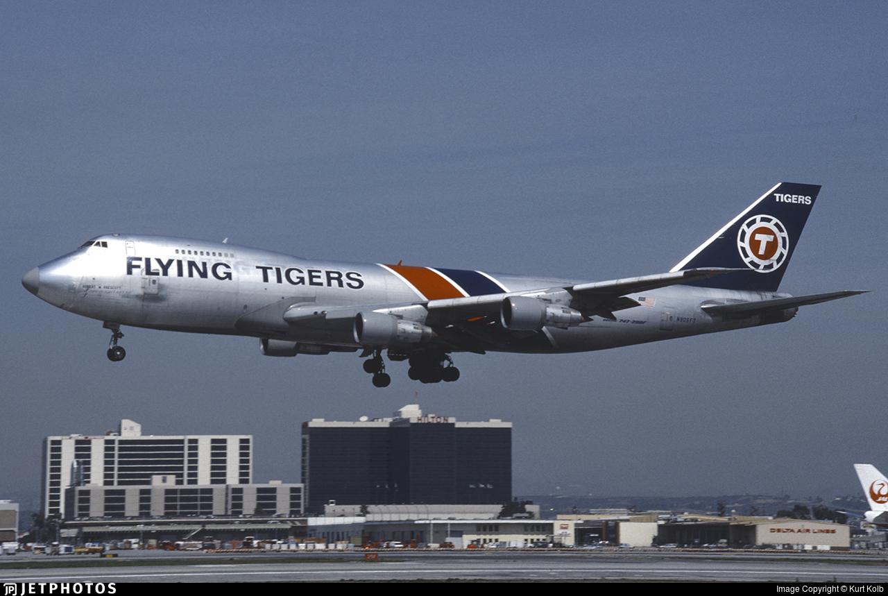 N806FT - Boeing 747-249F(SCD) - Flying Tigers