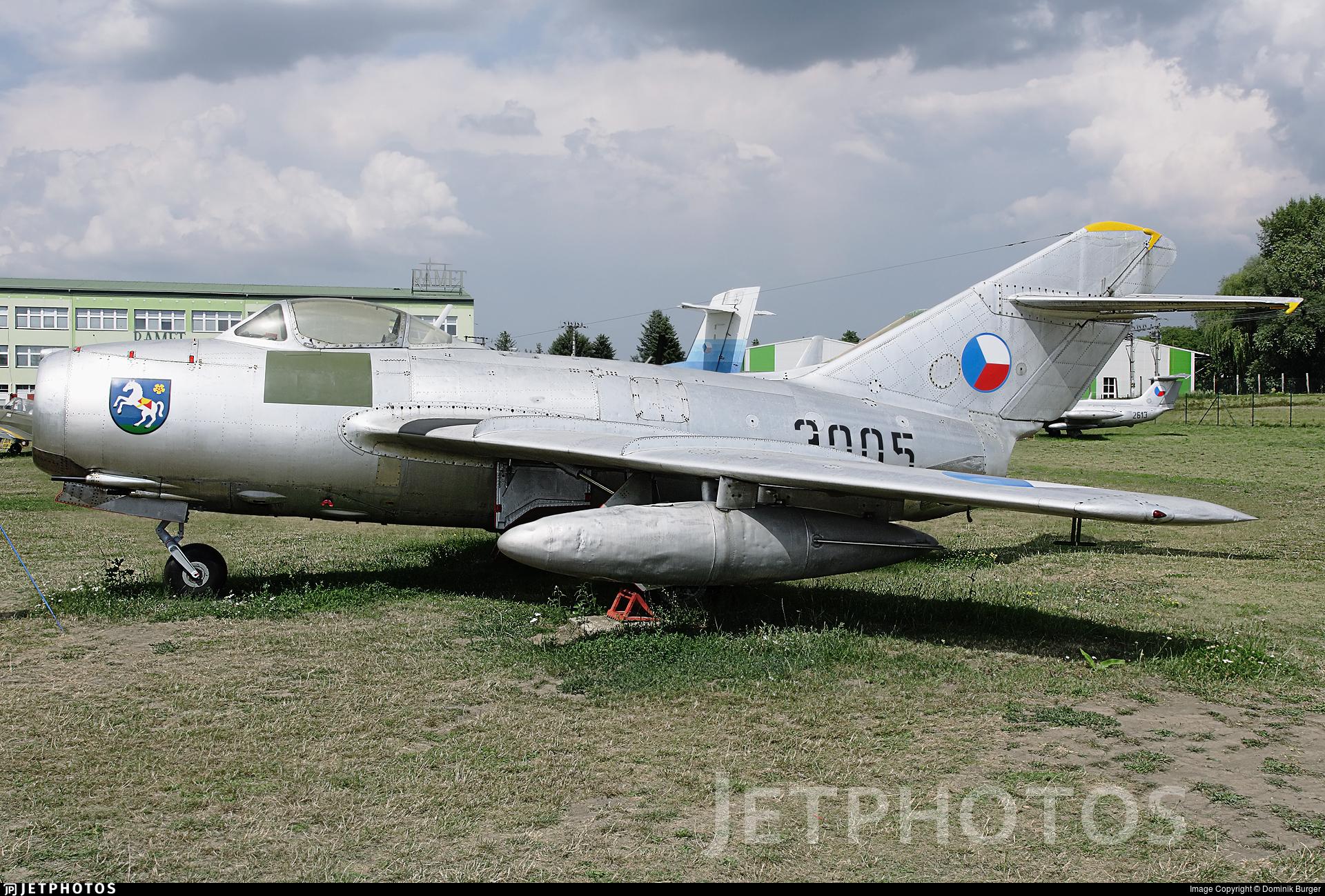 3005 - Mikoyan-Gurevich MiG-15 Fagot - Czech Republic - Air Force