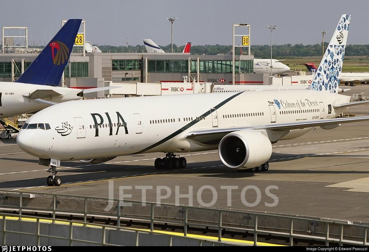 AP-BHV - Boeing 777-340ER - Pakistan International Airlines (PIA)