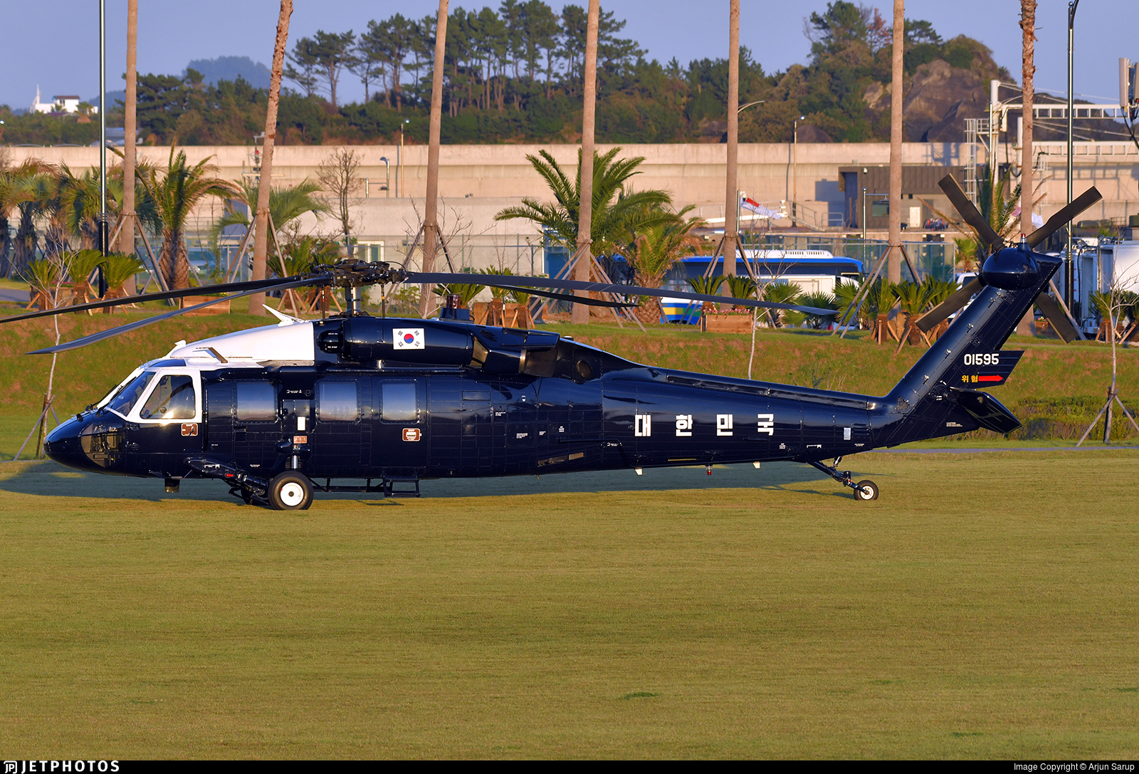 01595 - Sikorsky UH-60P Blackhawk - South Korea - Air Force