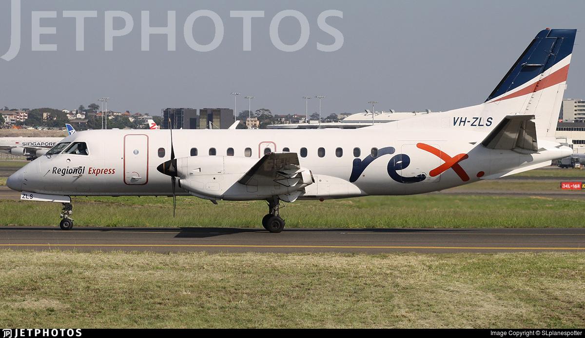 VH-ZLS - Saab 340B - Regional Express (REX)