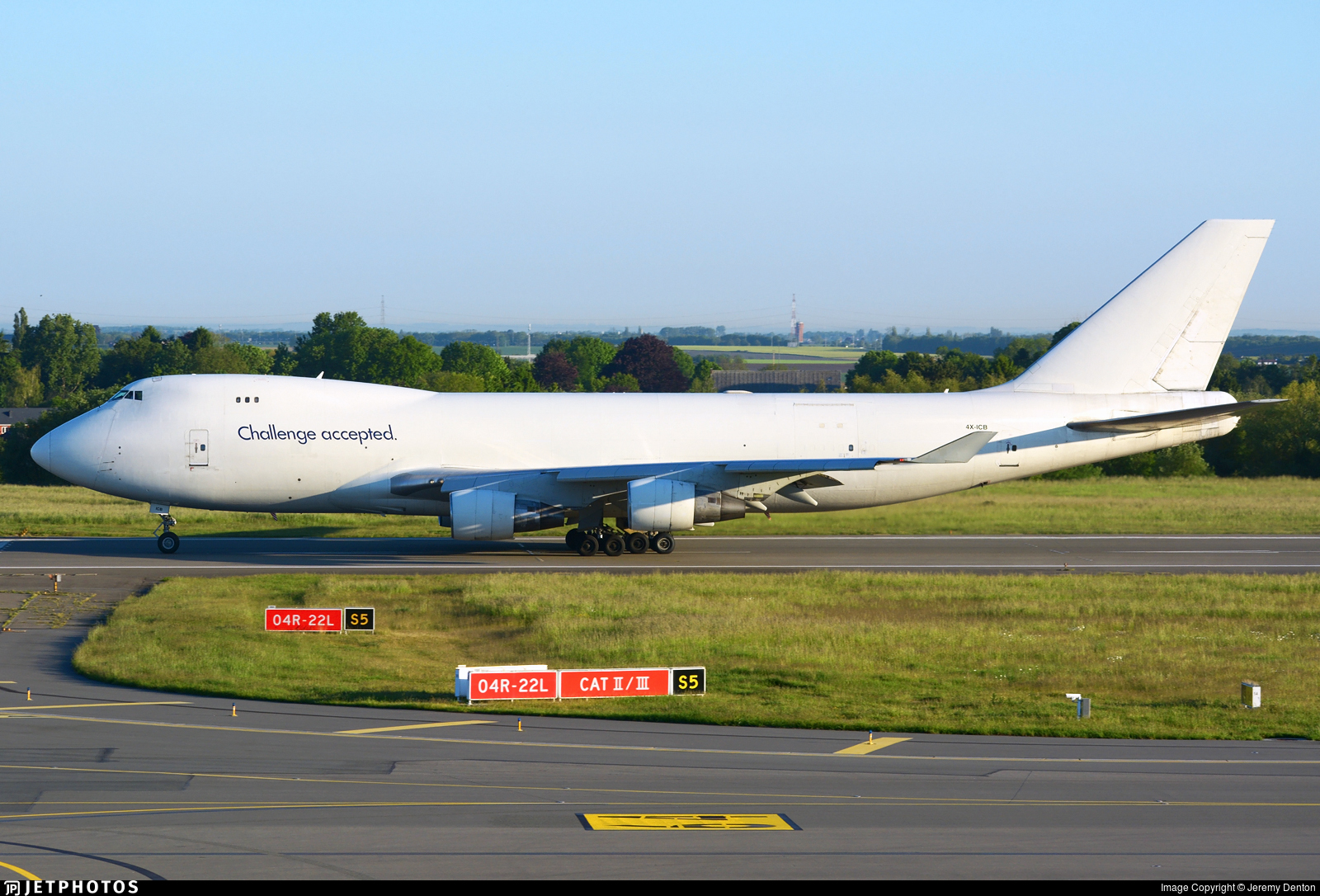 4X-ICB - Boeing 747-412F(SCD) - Cargo Air Lines (CAL)