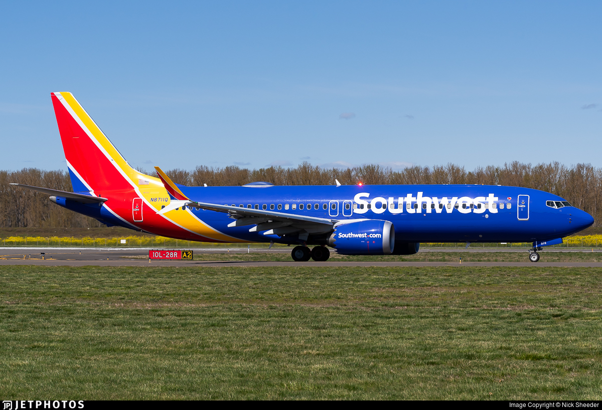 N8711Q - Boeing 737-8 MAX - Southwest Airlines