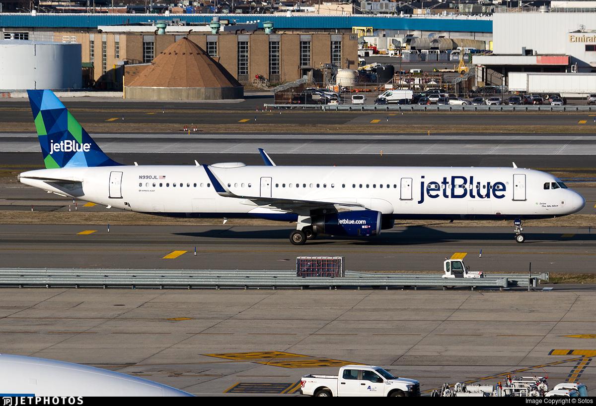 N990JL - Airbus A321-231 - jetBlue Airways