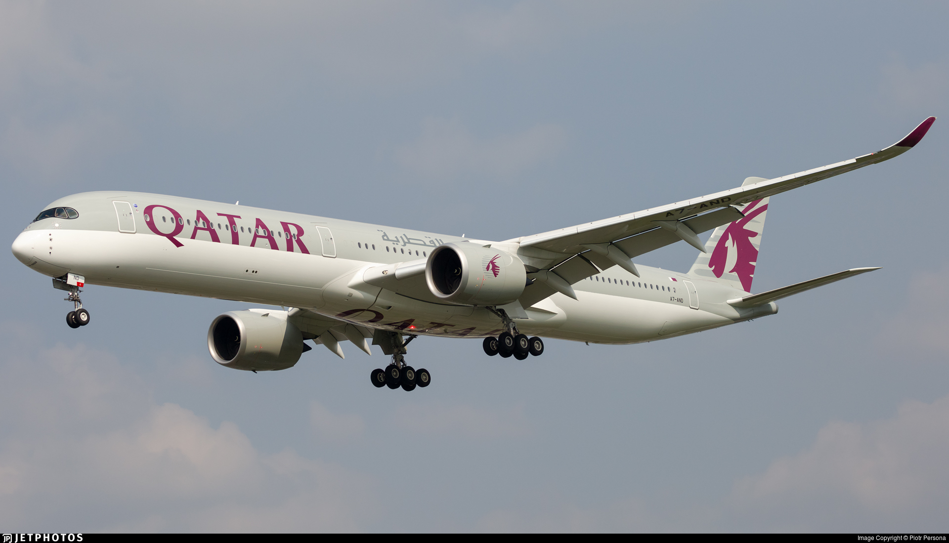 A7-AND - Airbus A350-1041 - Qatar Airways