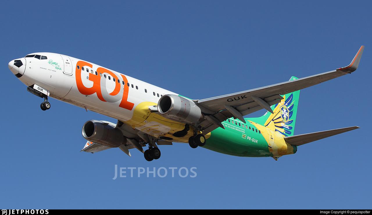 PR-GUK - Boeing 737-8EH - GOL Linhas Aereas