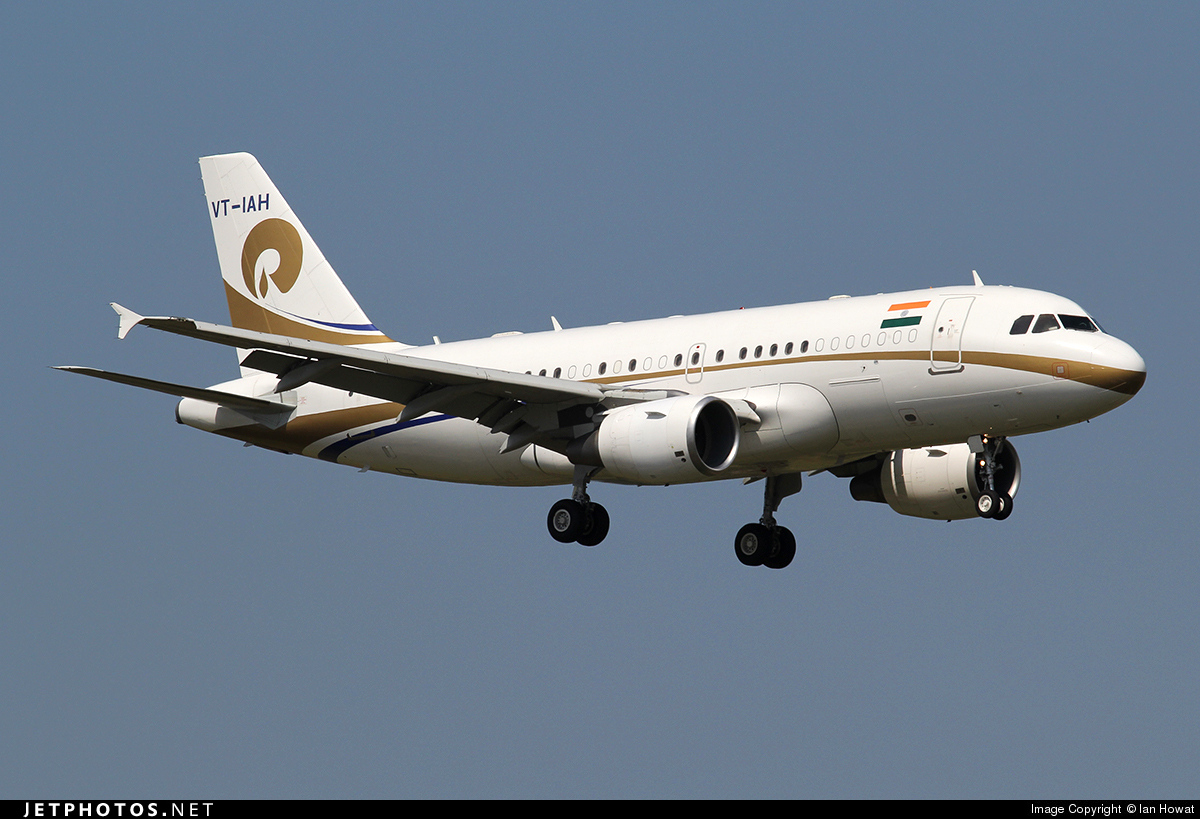 VT-IAH - Airbus A319-115(CJ) - Private