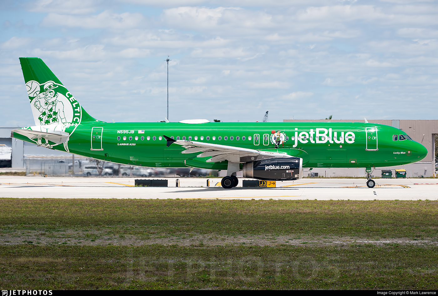 N595JB | Airbus A320-232 | jetBlue Airways | Mark Lawrence | JetPhotos