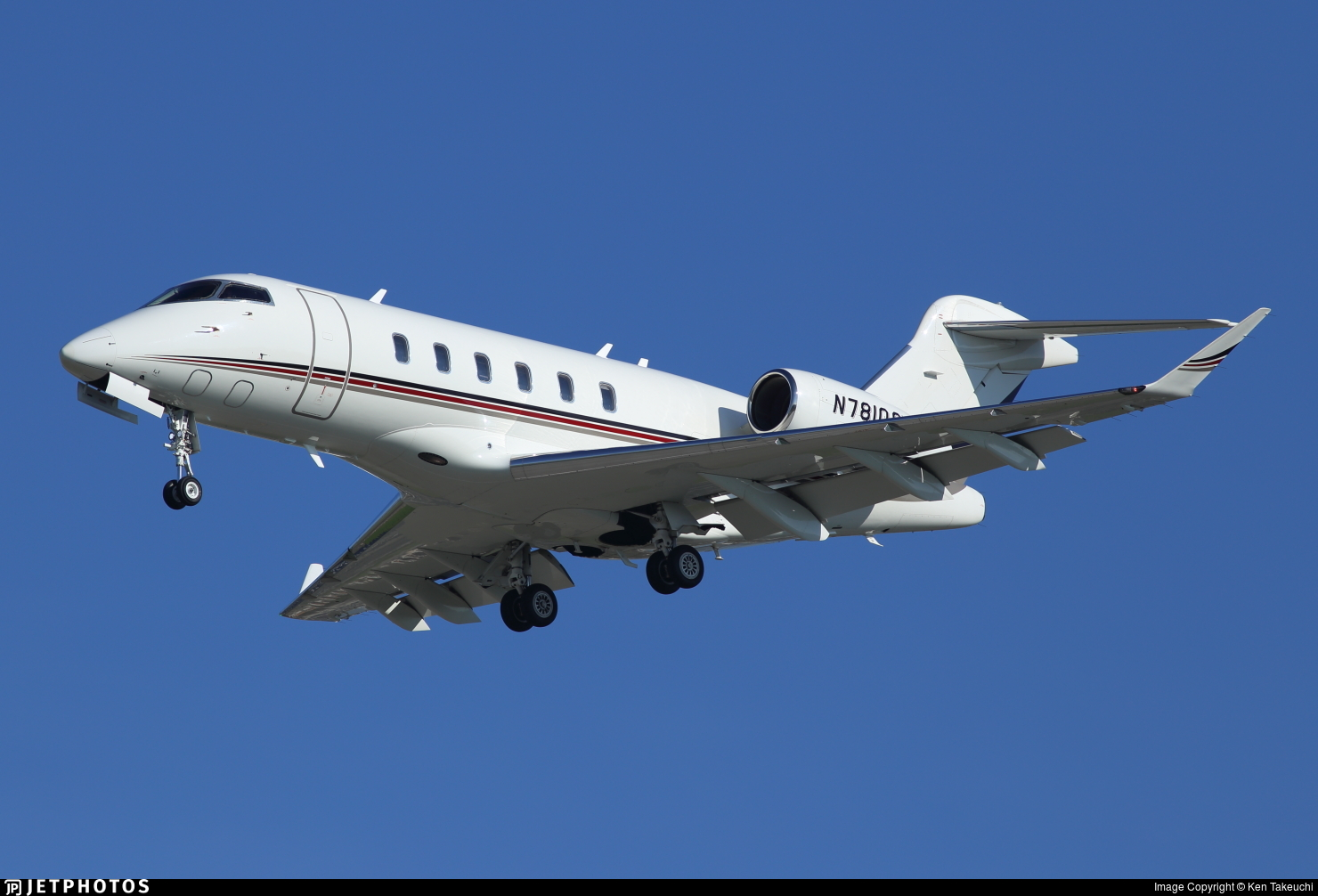 N781QS - Bombardier BD-100-1A10 Challenger 350 - NetJets Aviation