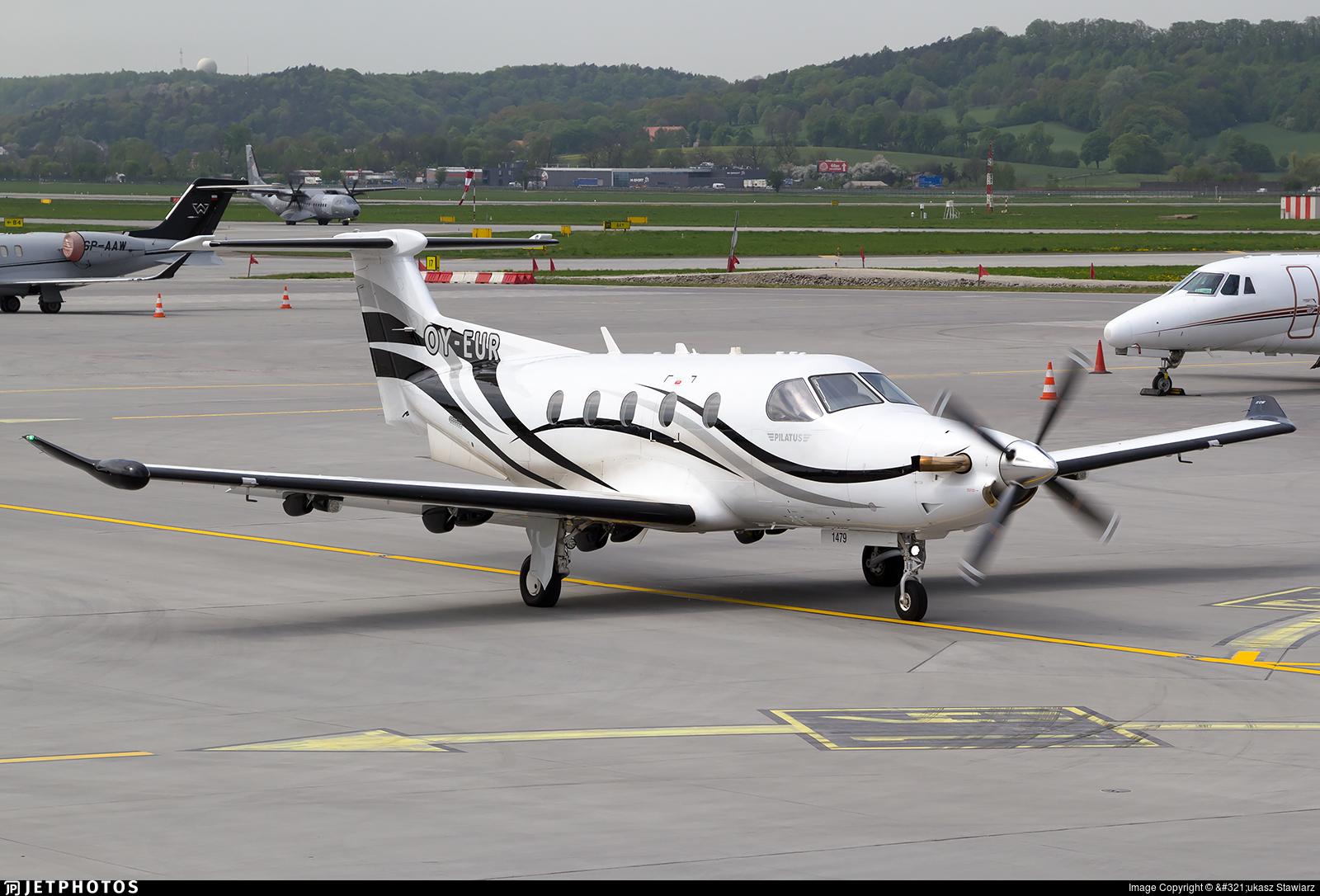 OY-EUR - Pilatus PC-12/47E - Private