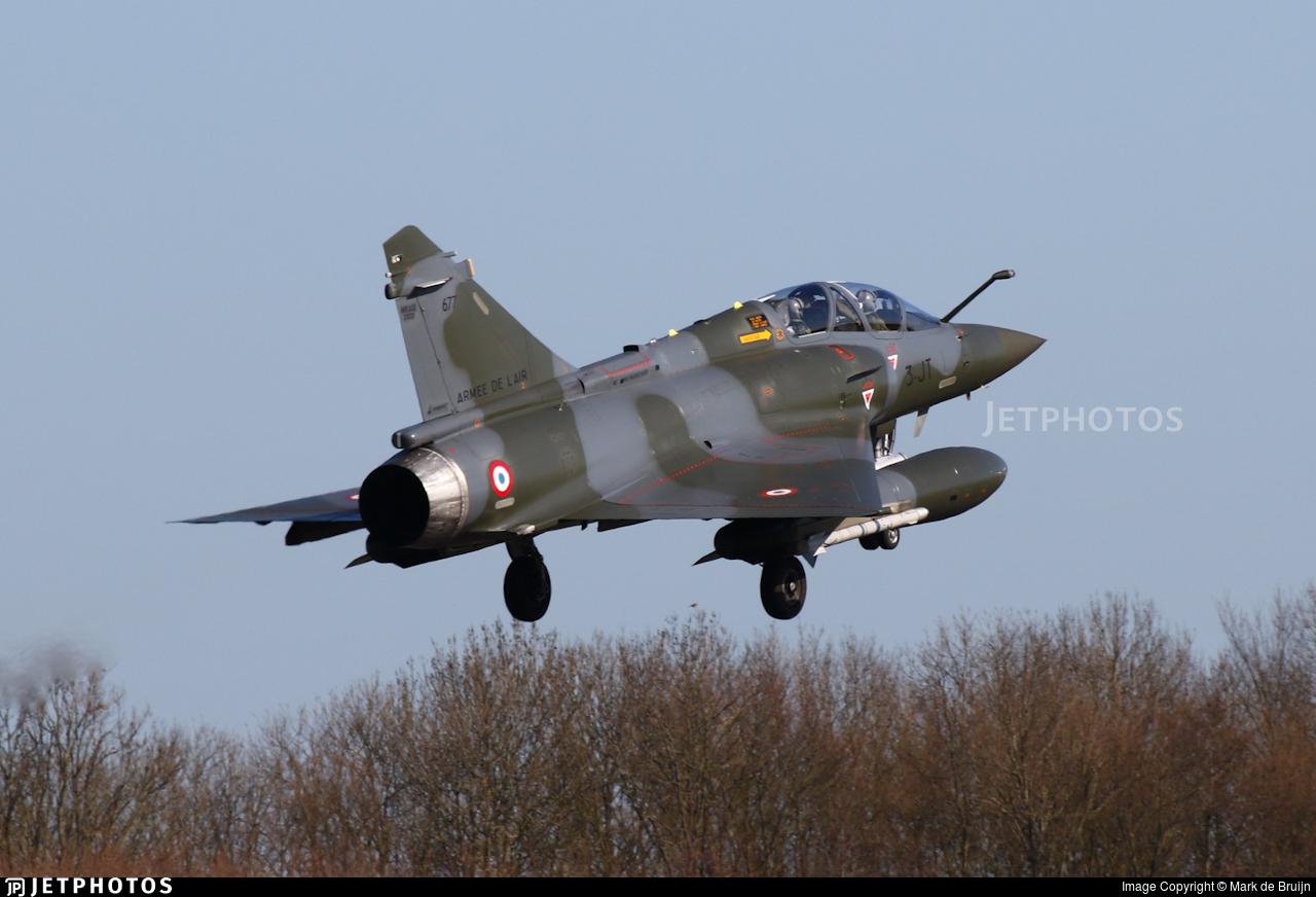 677 - Dassault Mirage 2000D - France - Air Force