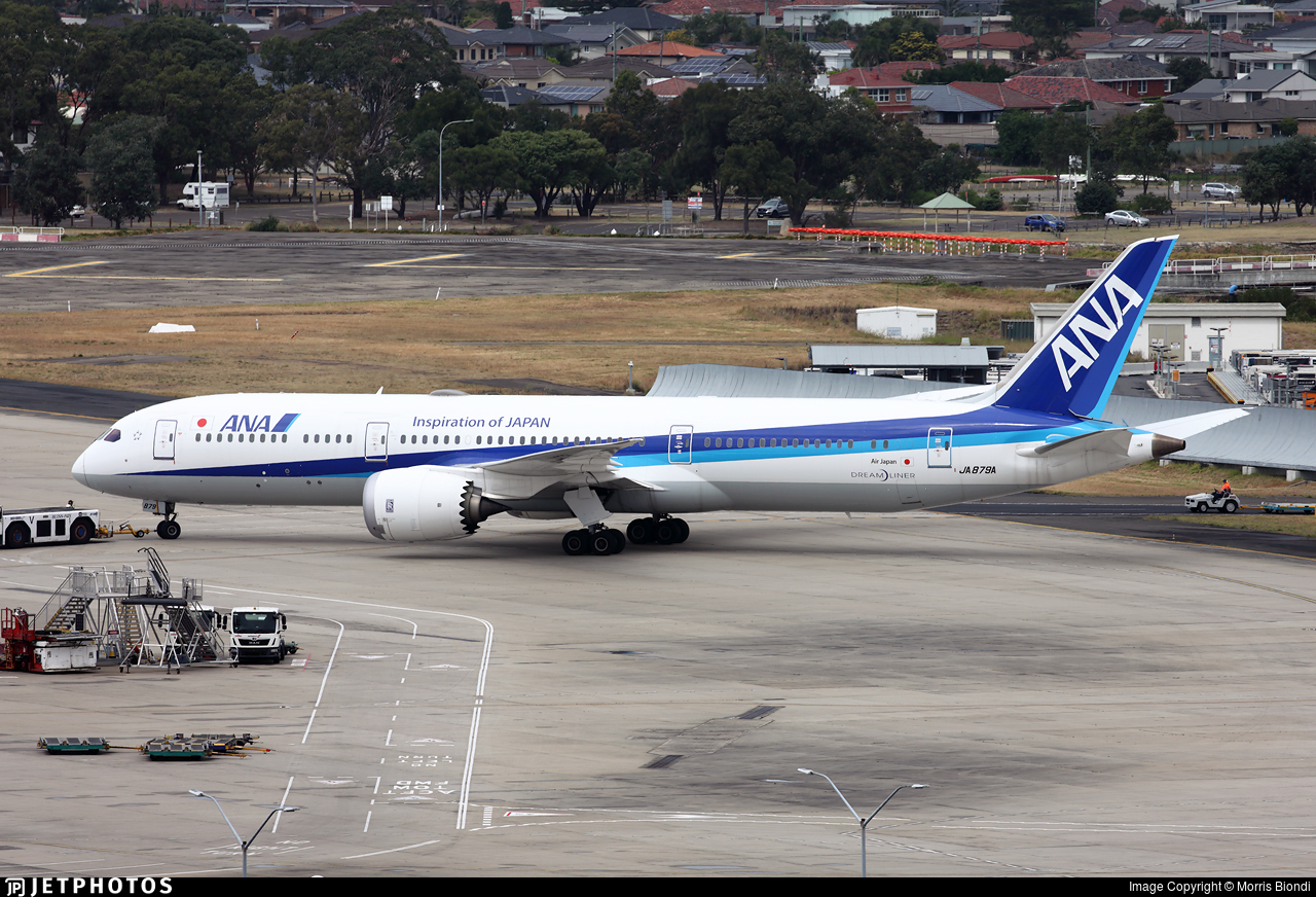 JA879A - Boeing 787-9 Dreamliner - All Nippon Airways (ANA)
