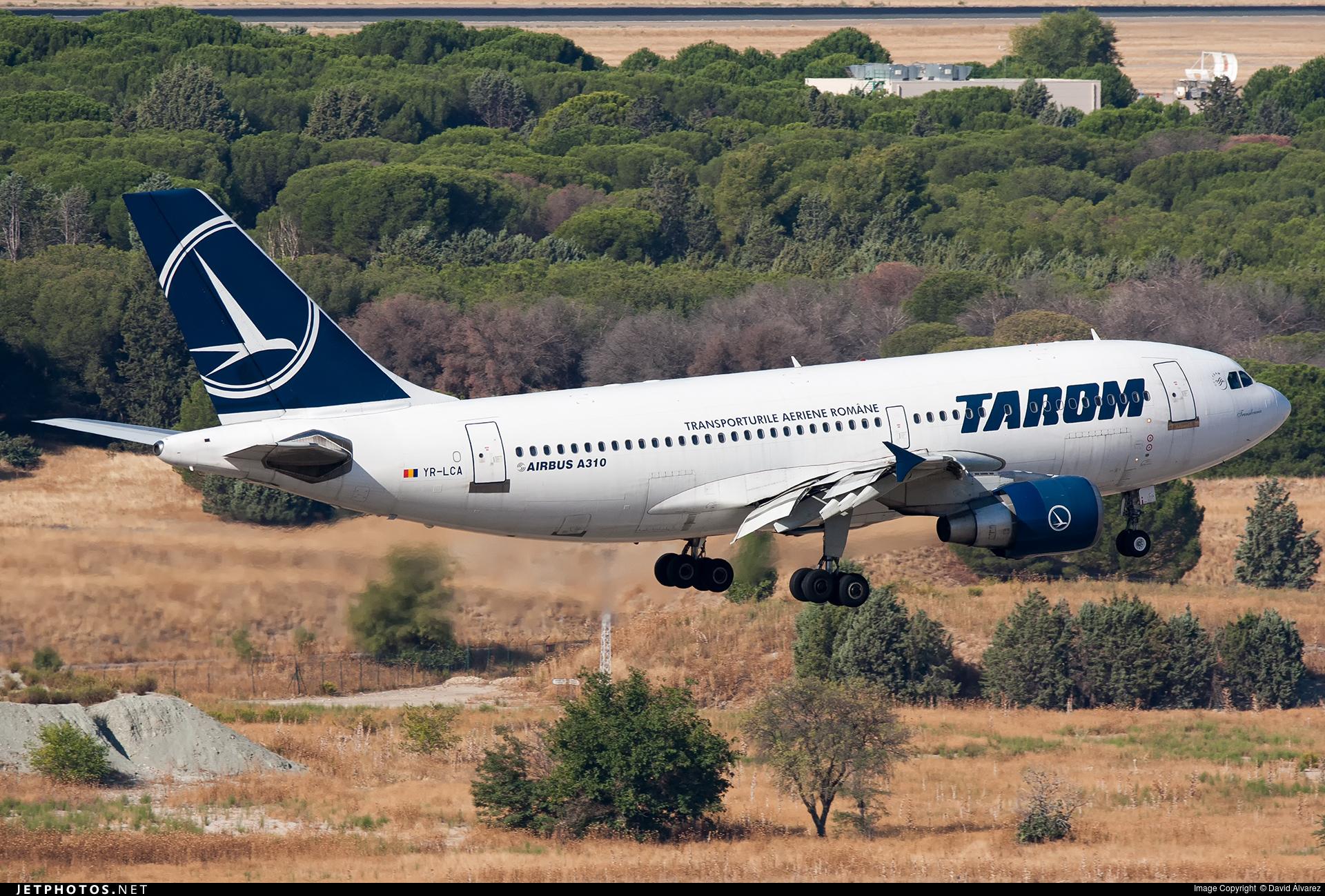 YR-LCA - Airbus A310-325 - Tarom - Romanian Air Transport
