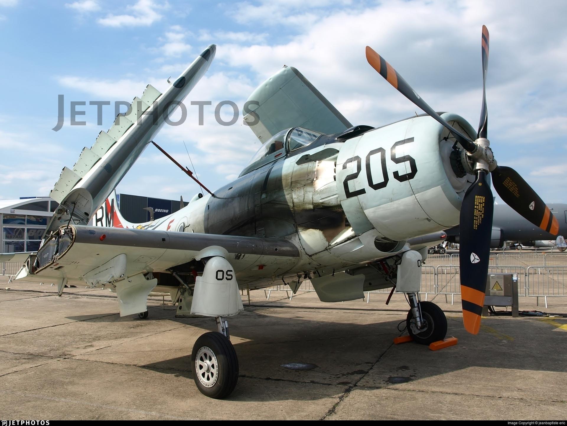 F-AZDP - Douglas AD-4N(A) Skyraider - Private