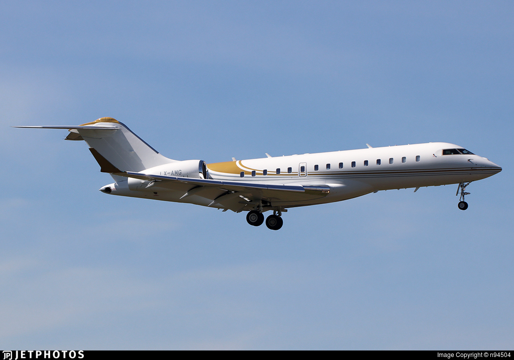LX-AMG - Bombardier BD-700-1A10 Global Express XRS - Private