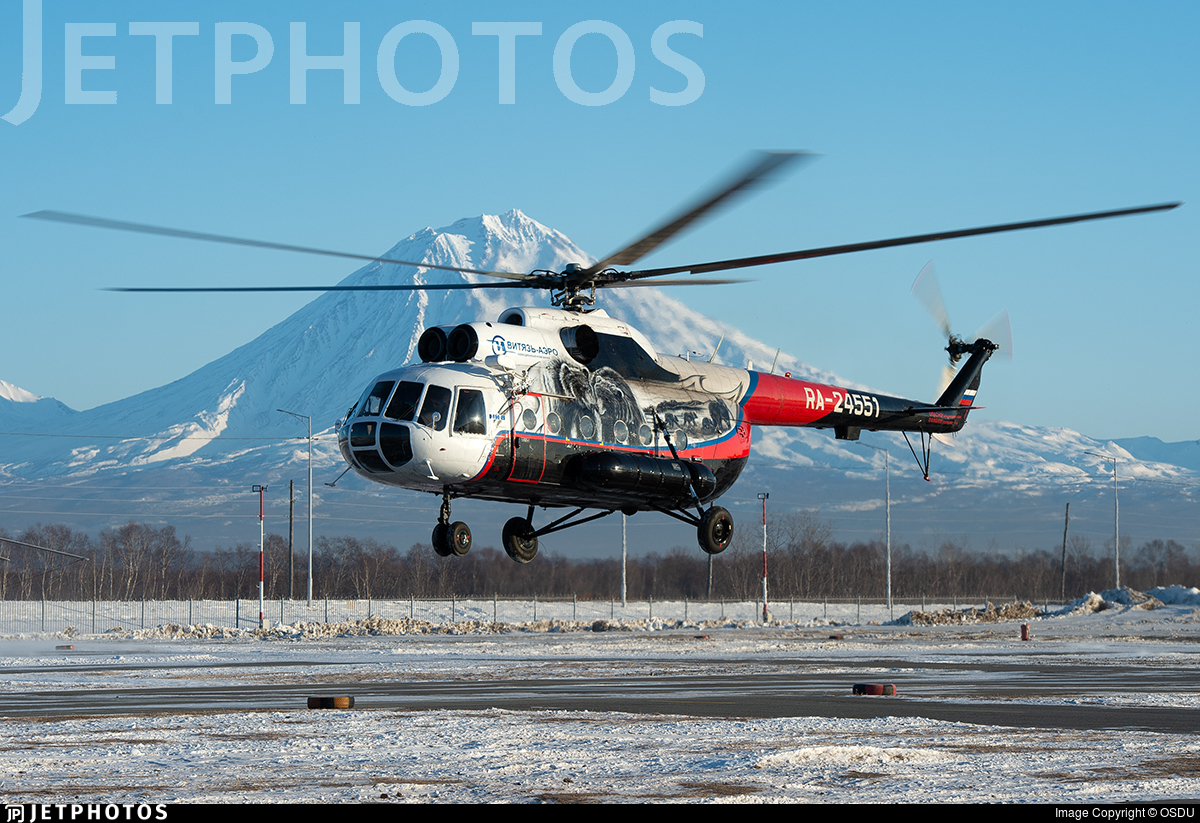 RA-24551 - Mil Mi-8MTV Hip - Vityaz-Aero